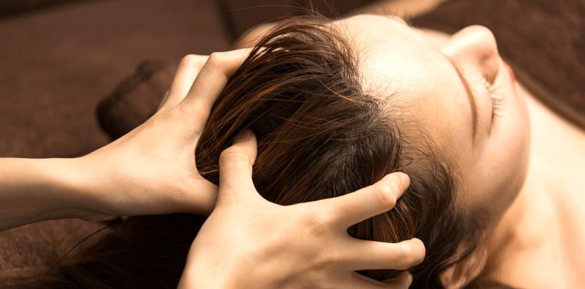 育毛マッサージ